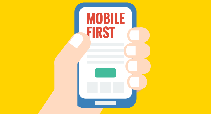 mobile first - webdesign trends 2021
